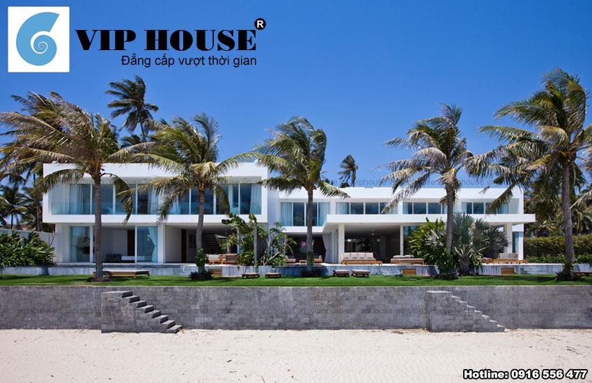 Thiết kế biệt thự hiện đại 2 tầng ven biển