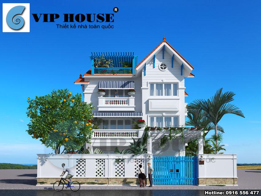 Thiết kế biệt thự hiện đại tại Hà Nội