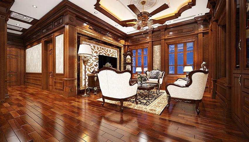Xu hướng thiết kế nội thất bằng gỗ đẳng cấp, lịch lãm