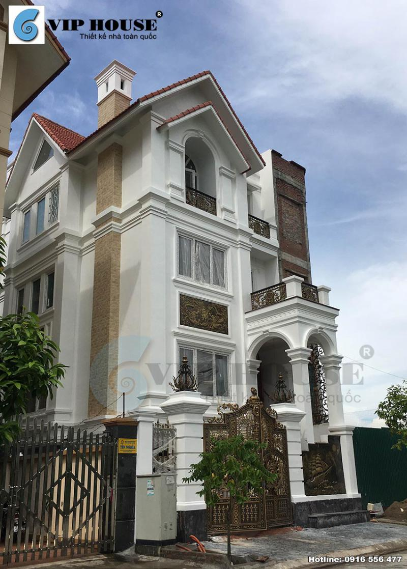 Công trình sau thi công sở hữu những đường nét kiến trúc ấn tượng