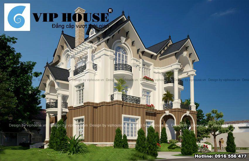 Công trình nổi bật với kiến trúc sang trọng, bề thế