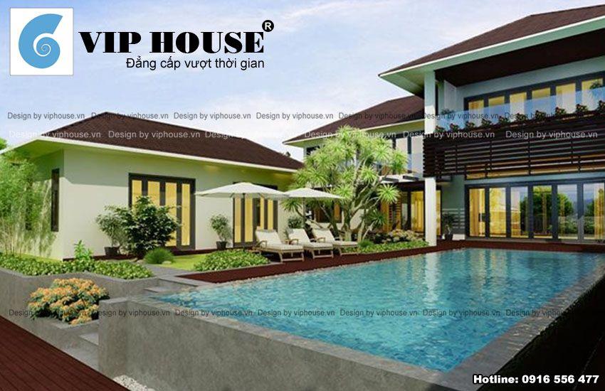 Không gian nhà đạt tiêu chí như 1 resort thu nhỏ