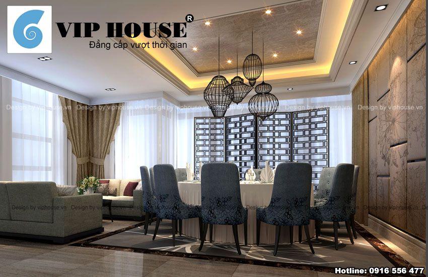 Phòng ăn Vip dành cho những khách hàng có nhu cầu nói chuyện riêng, thân mật