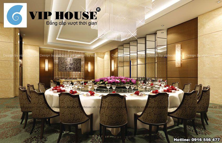 Phòng ăn vip phong cách Châu Âu 1