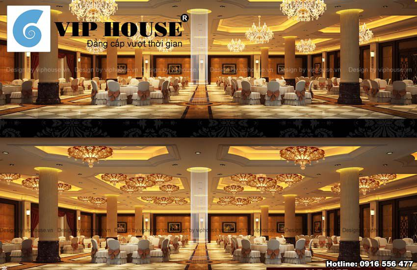 Khu vệ sinh được thiết kế tỉ mỷ đảm bảo không gian nhà hàng đẹp từng góc cạnh