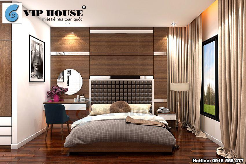 Nội thất nhà phố 4 tầng hiện đại tại Ninh Bình