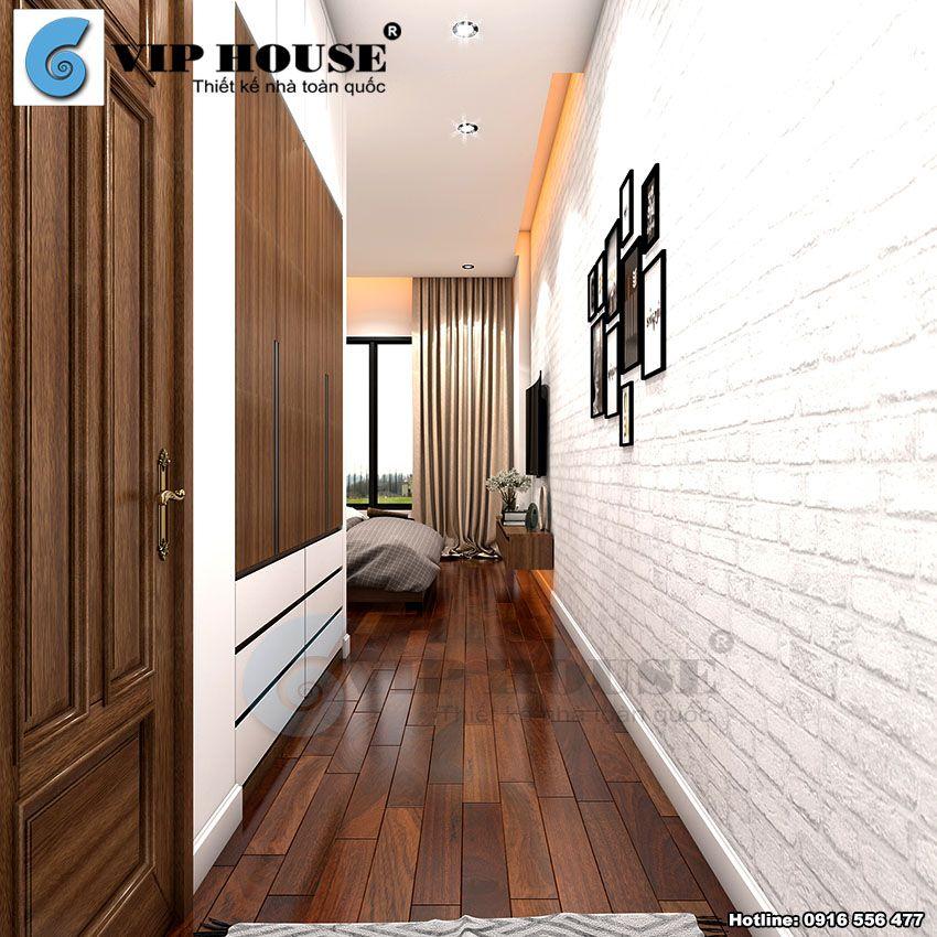 Thiết kế nội thất phòng ngủ master phong cách hiện đại