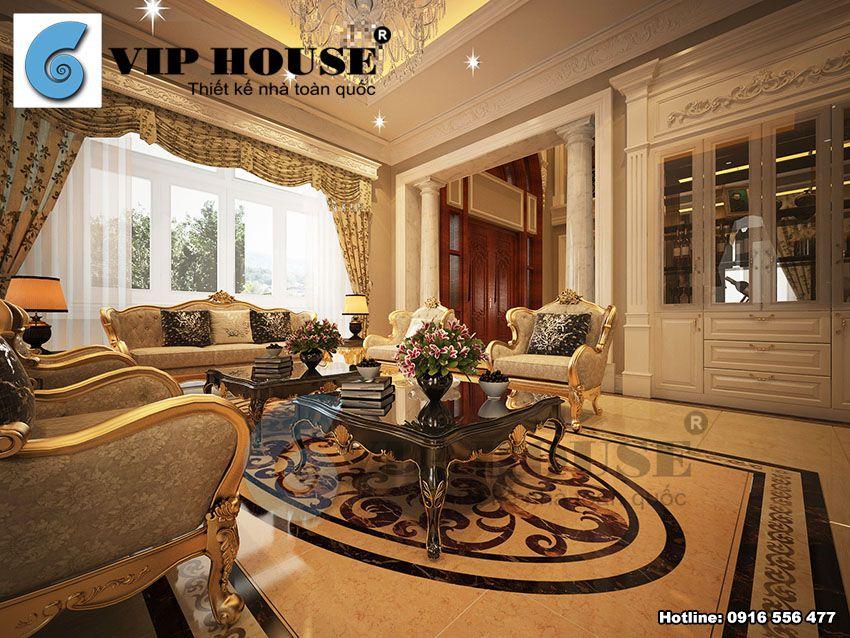 Thiết kế nội thất kiểu Pháp tại Huế
