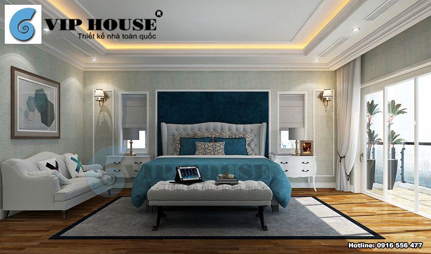 Xu hướng thiết kế nội thất biệt thự tân cổ điển Pháp đẹp năm 2018