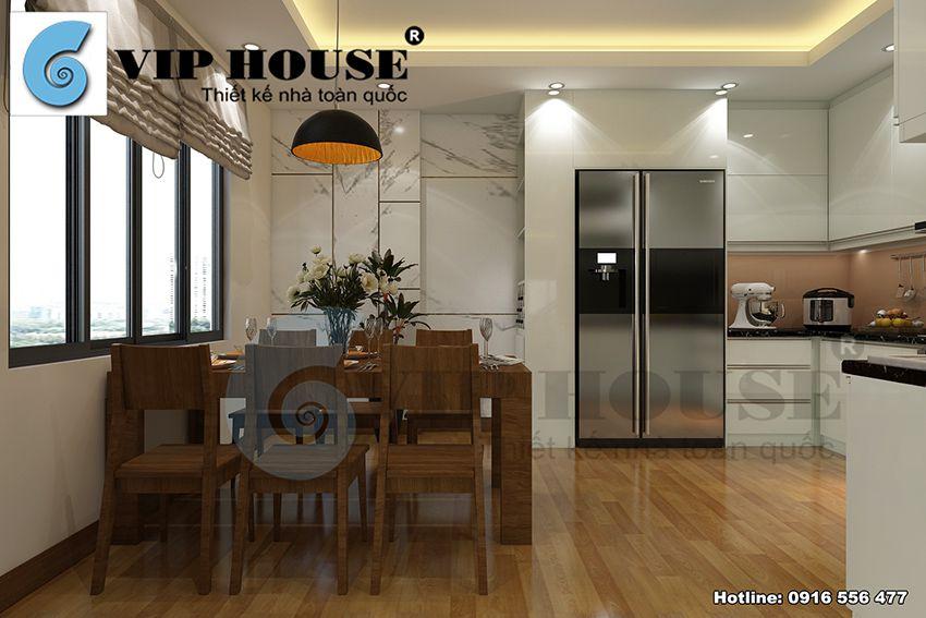 Đẹp hiện đại với mẫu thiết kế nội thất nhà phố tại Hà Nội