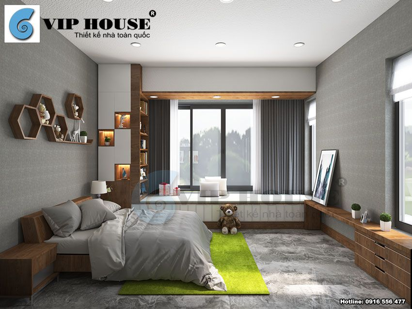 Thiết kế nội thất hiện đại mang nét đẹp Á Đông