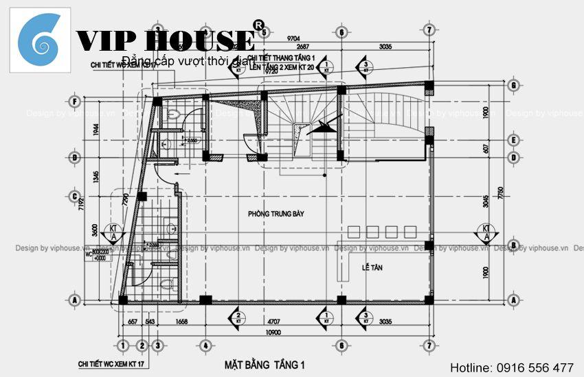 Tư vấn thiết kế nhà ở kết hợp văn phòng công ty đẹp và sang trọng