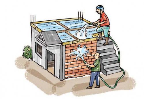 Vai trò của việc chống thấm trong thiết kế, thi công biệt thự nhà phố