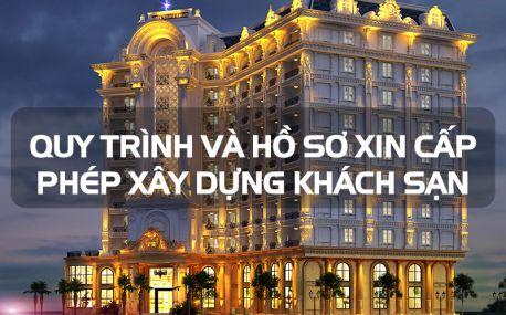Xin giấy phép xây dựng khách sạn theo quy định của Bộ Xây Dựng
