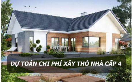 Tư vấn dự toán chi phí xây thô nhà cấp 4 ở nông thôn