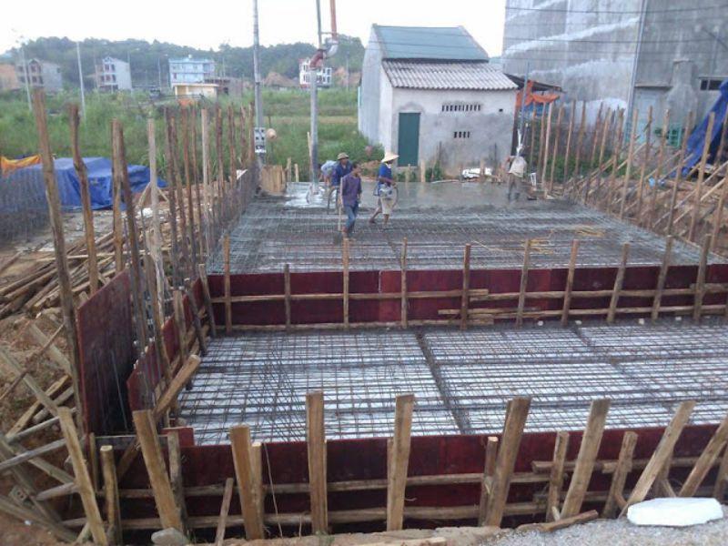 Tư vấn kinh nghiệm làm móng xây nhà trên nền đất yếu