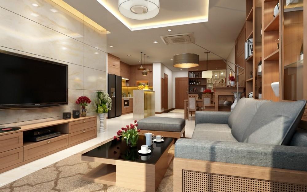 Ý nghĩa phong thủy 8 hướng trong thiết kế nội thất phòng khách