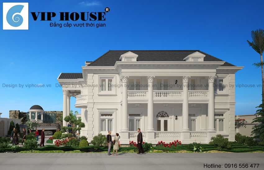Tỷ lệ công trình luôn được kts Vip House tuân thủ chặt chẽ