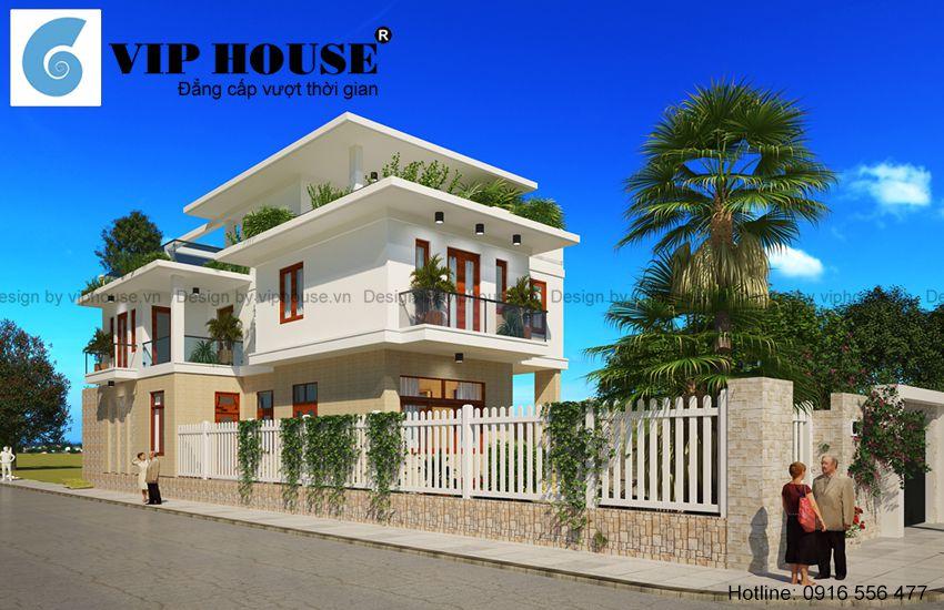 Góc nhìn đẹp nhất của ngôi nhà ấn tượng với hình khối kiến trúc hiện đại