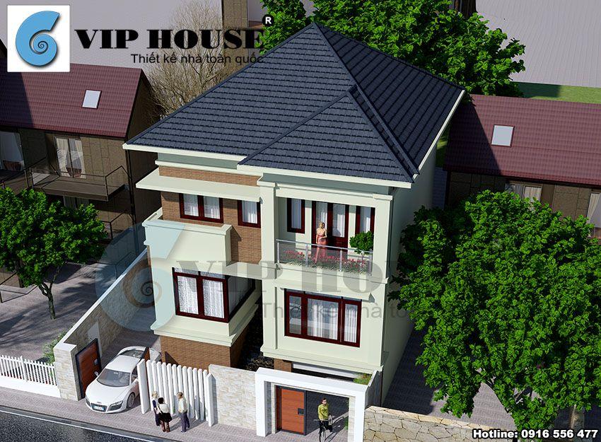 Tổng thể ngôi nhà với diện mạo bền vững với thời gian