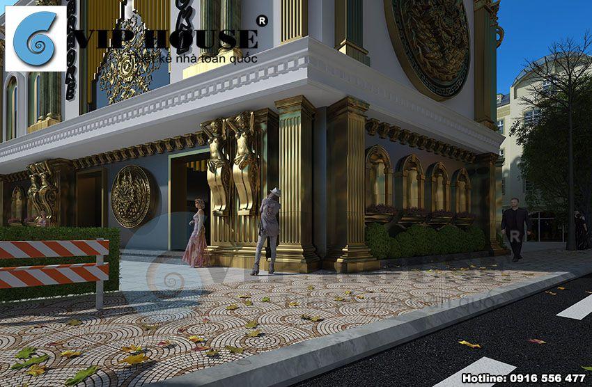 Cận cảnh nét đẹp kiến trúc hoàng gia, quý tộc