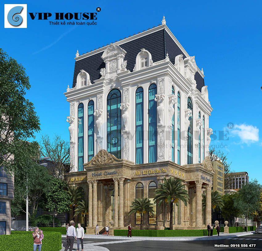 Lợi thế 2 mặt tiền được kts Vip House tận dụng tối đa