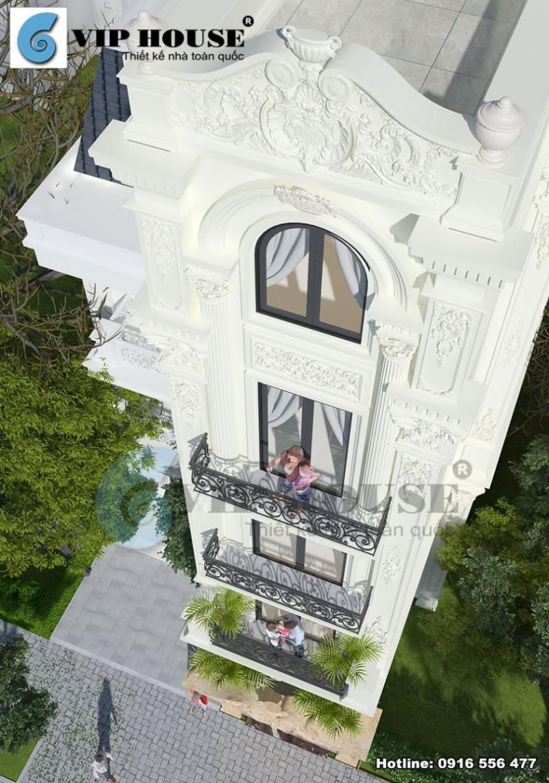 View nhìn từ trên xuống lột tả được cận cảnh hoa văn điêu luyện