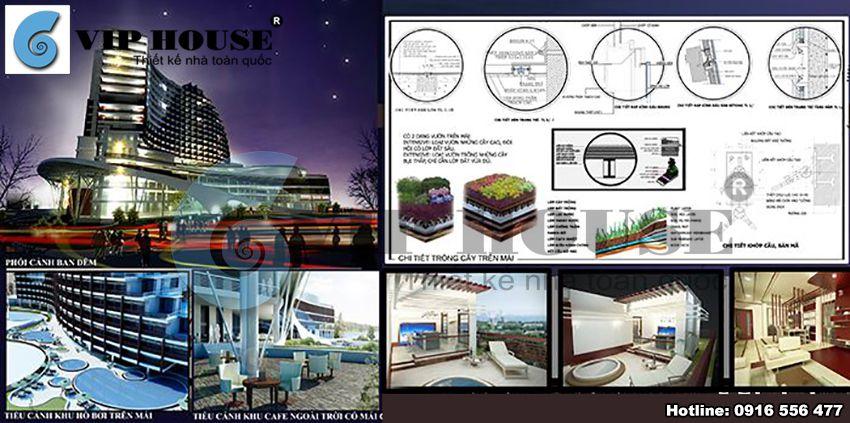 Một số phân tích trong thiết kế khách sạn