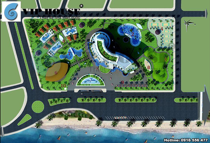 Thiết kế khách sạn 4 sao ven biển Đà Nẵng