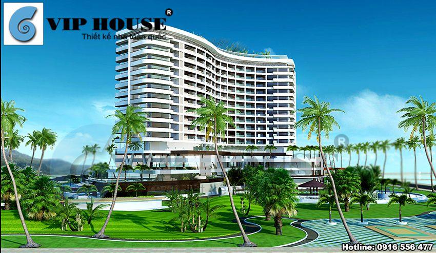 Không gian khách sạn với khu vực sinh thái ven biển toàn diện