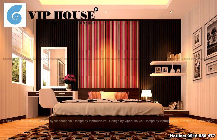 Thiết kế nội thất các phòng ngủ con nhà phố