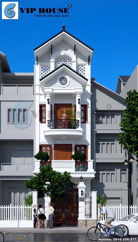 Vẻ đẹp góc cạnh của ngôi nhà phố qua nhiều góc nhìn khác nhau