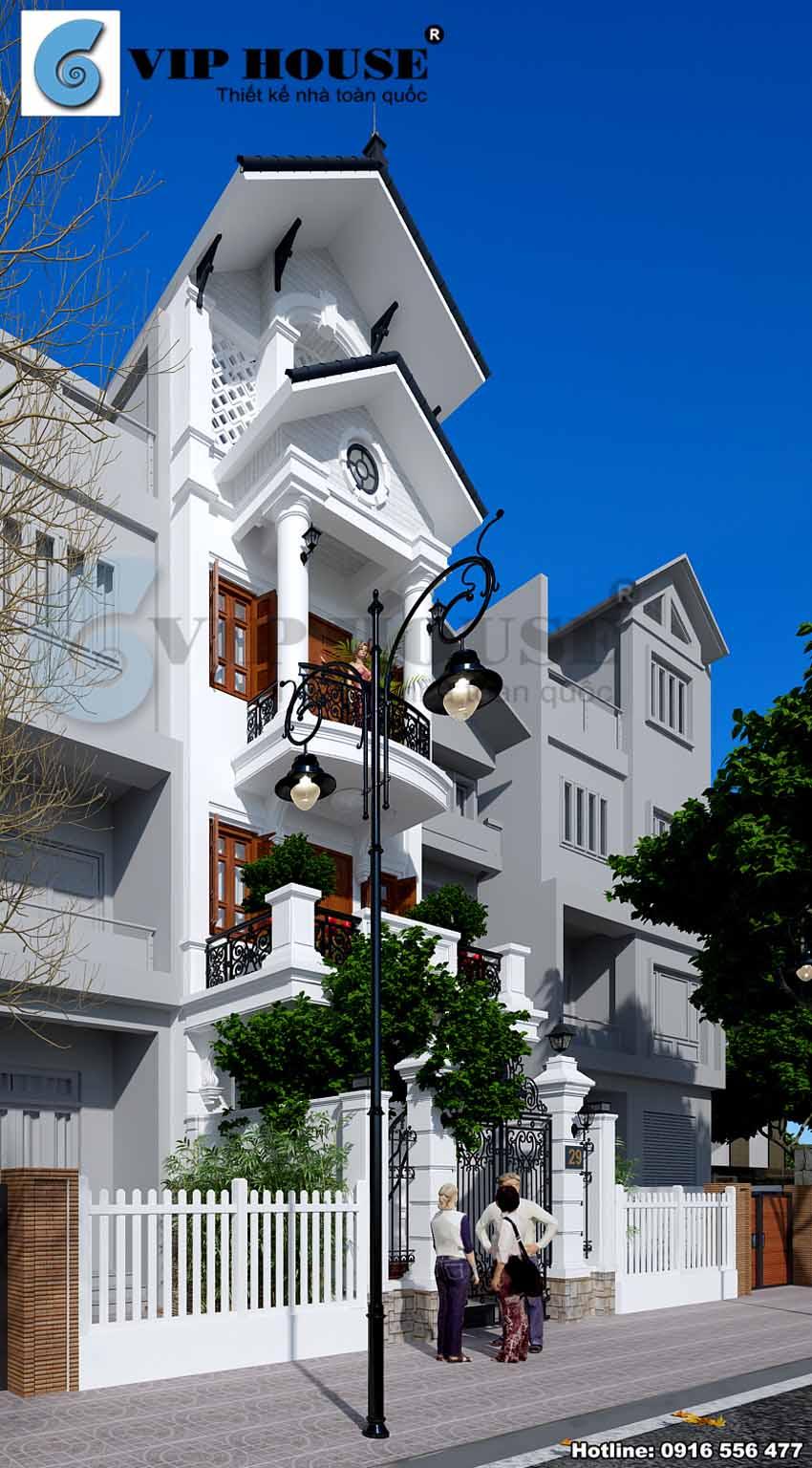 Những đường nét tinh tế đã thay thế hoàn toàn kiến trúc nhà