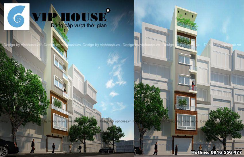 Mặt tiền nhà mang phong cách hiện đại từ hình khối, đường nét tới vật liệu sử dụng