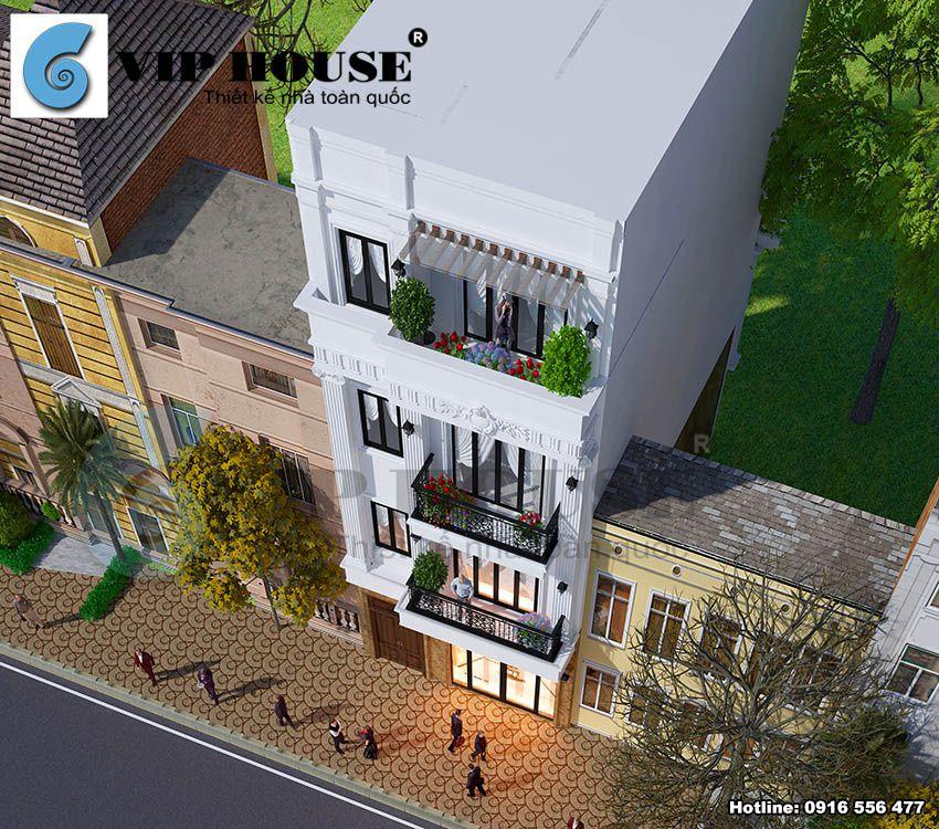Thiết kế lệch tầng tạo cho ngôi nhà không gian sống thoải mái, tiện nghi hơn