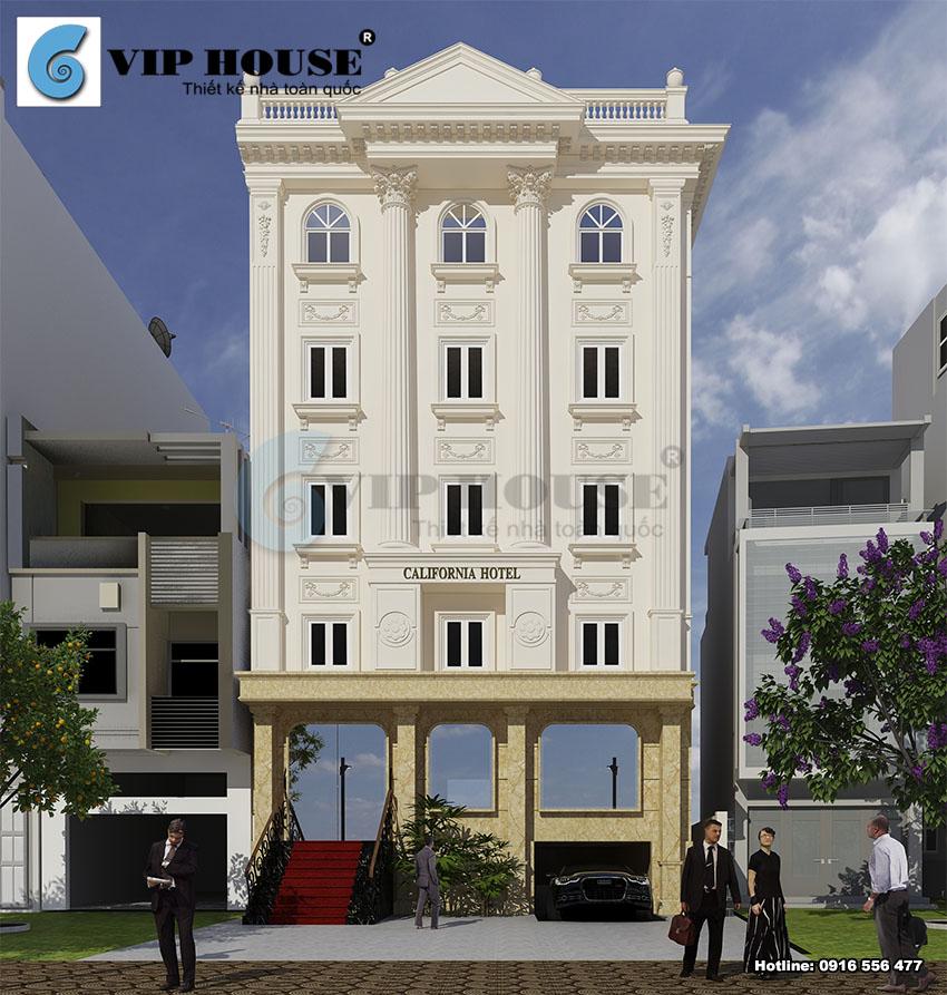 Vẻ đẹp cuốn hút cùng những đặc trưng cơ bản của phong cách tân cổ điến cho kiến trúc khách sạn 2 sao