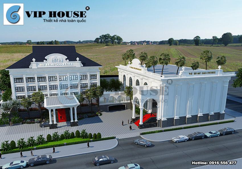 Thiết kế khách sạn phải lưu ý đồng bộ giữa kiến trúc và nội thất