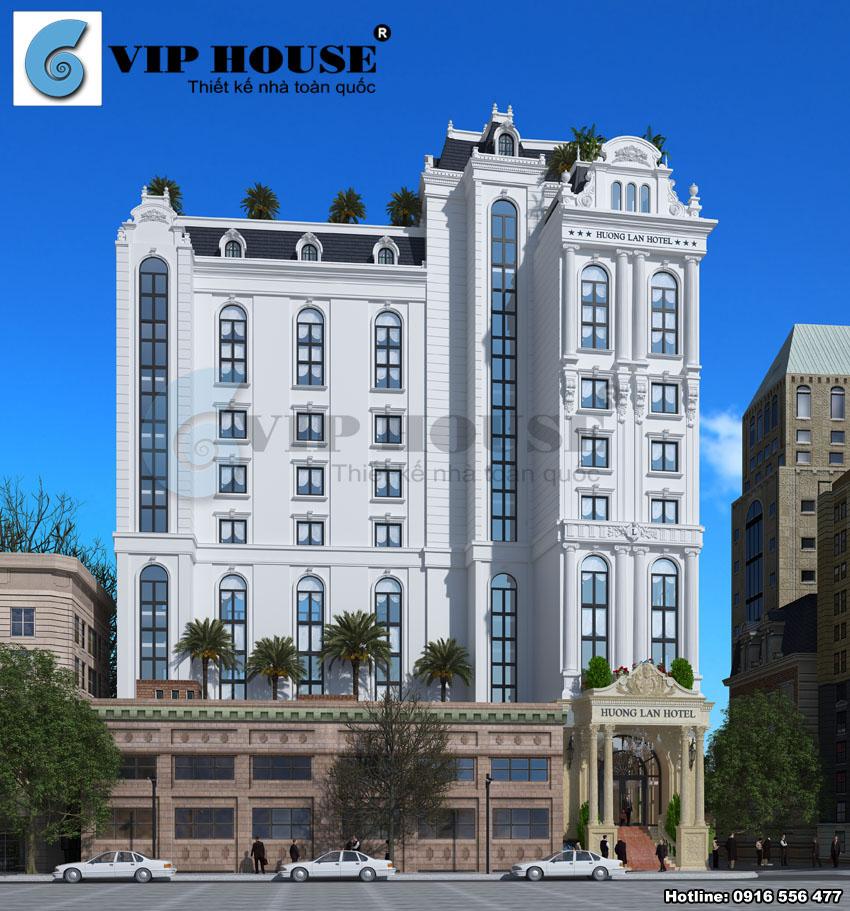 Thiết kế khách sạn cần lưu ý sao cho bố cục được sắp xếp hợp lý