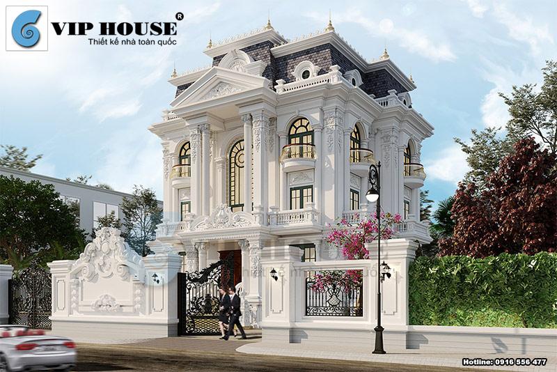 Xây biệt thự Pháp có nhiều ưu điểm cho không gian sống của gia đình