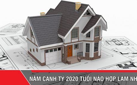 Năm 2020 tuổi nào hợp làm nhà?