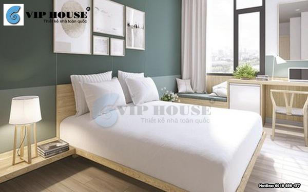 Mẫu phòng ngủ khách sạn mini đơn giản và thu hút