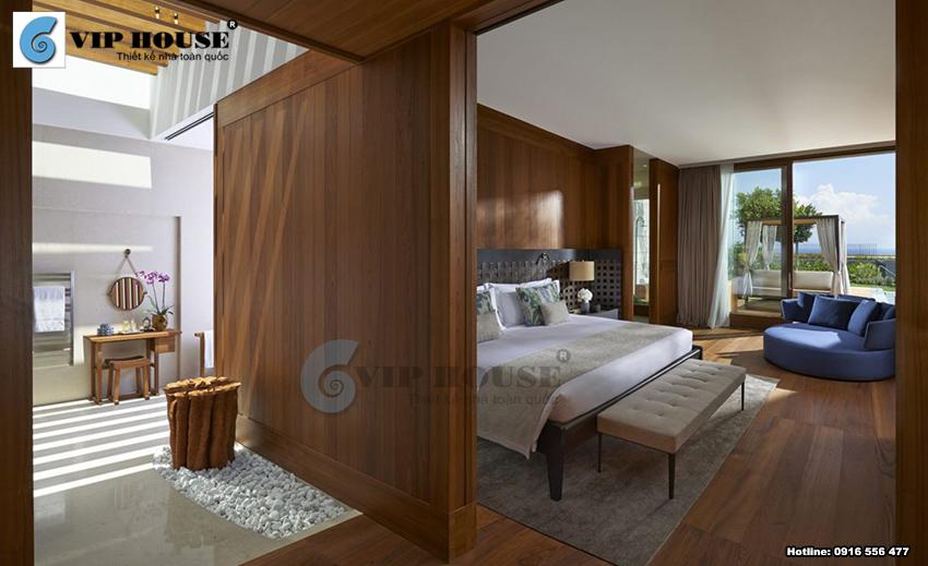 Mẫu thiết kế phòng ngủ khách sạn 5 sao đẳng cấp và tiện nghi