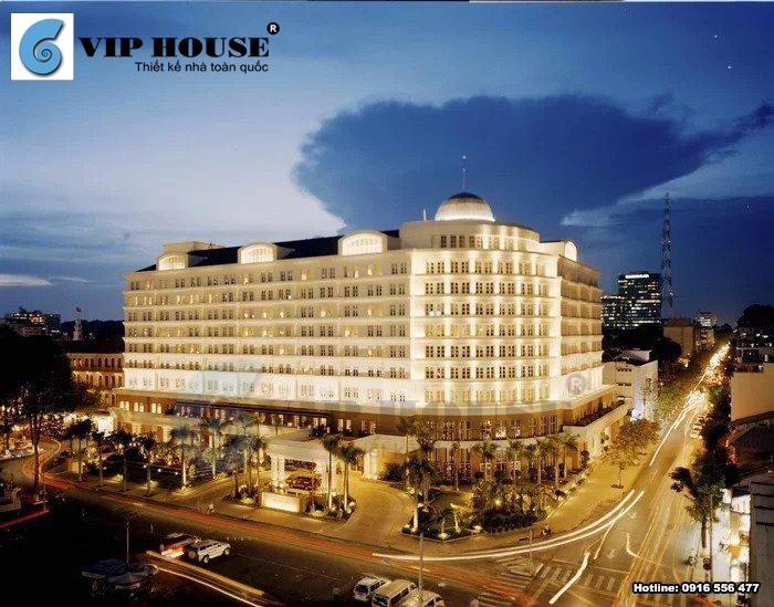 Mẫu thiết kế khách sạn 5 sao phong cách tân cổ điển