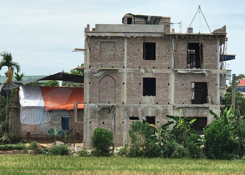 Giải pháp xây nhà trên nền đất ruộng như thế nào?