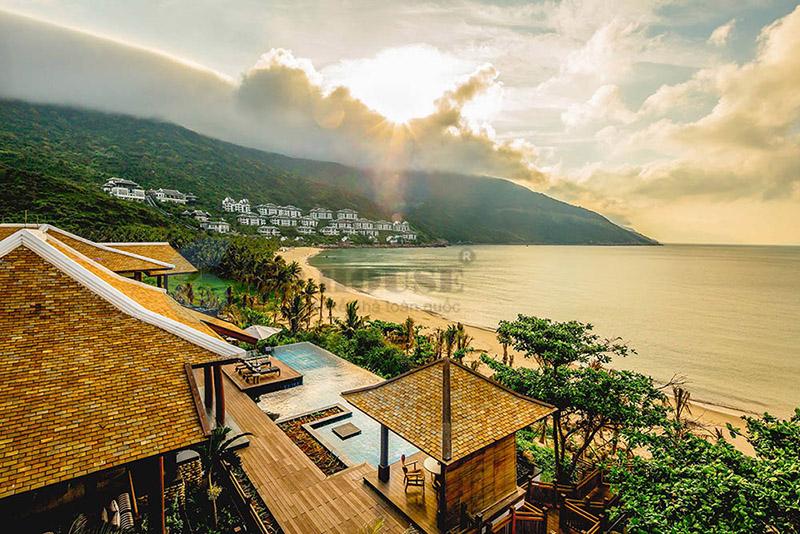 Thiết kế khu resort phức hợp với view biển đẹp miên chê