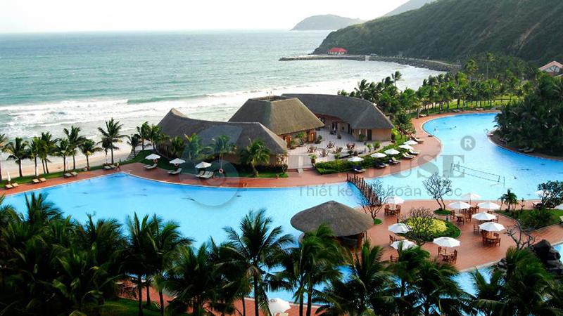 Thiết kế resort nghỉ dưỡng cao cấp ven biển vô cùng ấn tượng