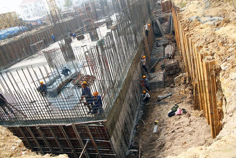 Hình ảnh: Cách tính chiều sâu chôn móng chính xác cho các công trình