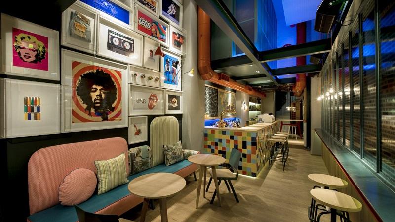 Hình ảnh: Thiết kế nội thất quán cafe độc đáo, phá cách và thú vị