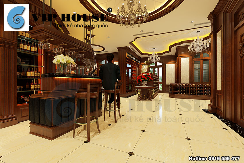Biệt thự kiểu Pháp 2 mặt tiền tinh tế tại Hà Nội - VH BTP 025