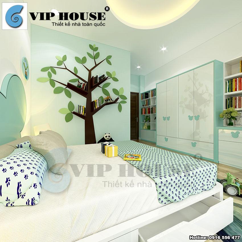 Nhà phố 4 tầng mặt tiền 4,5m tại Bắc Ninh - VH NP MS012